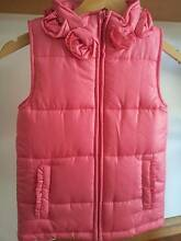 Girls Cotton On Kids Hot Pink quilted Vest size 8 South West Rocks Kempsey Area Preview