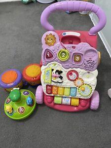 Baby walker & toys