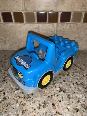 Lego 10880 Duplo T. Rex Tower Jurassic World Park Replacement car truck #0368