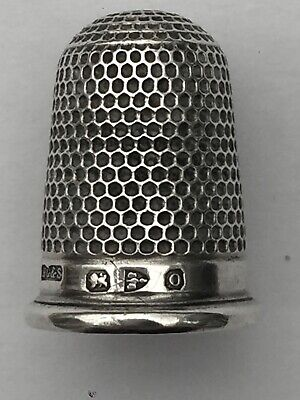 Vintage 1931 Sterling Silver Textured Thimble Henry Griffith /& Sons Ltd 5.2g