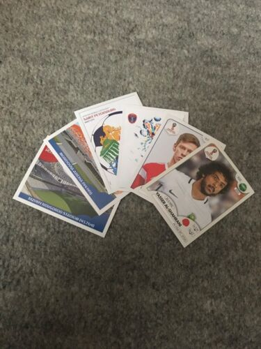 Panini 2018 Fifa World Cup Russia Missing Stickers. Pick 8 From List.