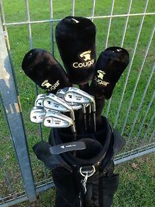 Cougar golf clubs and carry bag Minto Heights Campbelltown Area Preview