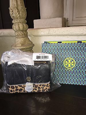 TORY BURCH KERRINGTON MINI CROSS-BODY OCELOT LEOPARD-NWT +GIFT BAG! SOLD OUT!!!