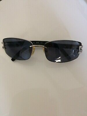 Sonnenbrille Schwarz dunkle Gläser ()
