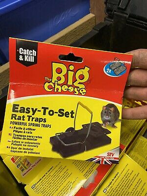Big Cheese mouse and rat traps Joblot