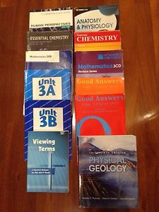 Year 12 textbooks & Casio classpad Stirling Stirling Area Preview