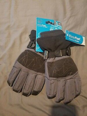 3b6001c0a WINTER PROOF PERFORMANCE SKI GLOVE MEN'S SIZE: LARGE