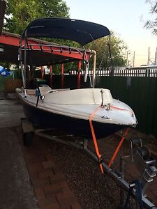 4.1m fiberglass open runabout & mercury outboard $2000 ONO South Maitland Maitland Area Preview