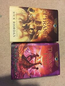 The Kane Chronicles 1 and 2 - HARDCOVER plus Survival Guide