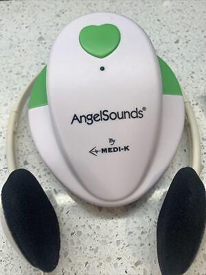 Angelsounds Fetal Doppler Baby Heartbeat Monitor Medi-k