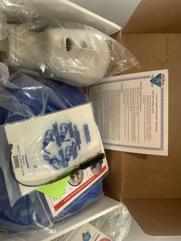 CPR Prompt Training Manikin - Adult / Child - Blue LF06001