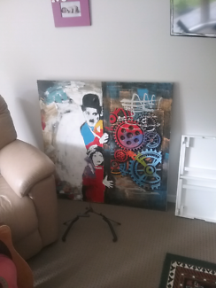 Wall print painting  charlie chapmen looks great in any room Shailer Park Logan Area Preview