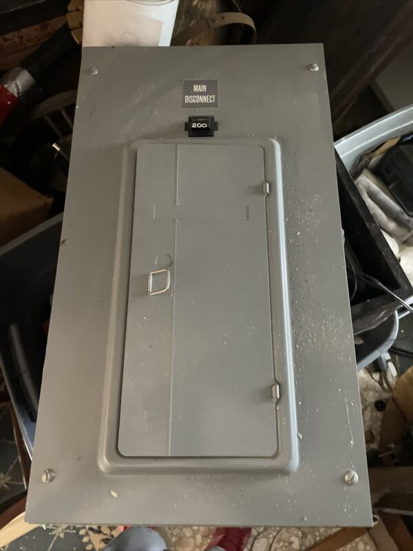Federal Pacific 200amp Panel With  Cover With About 17 Breakers