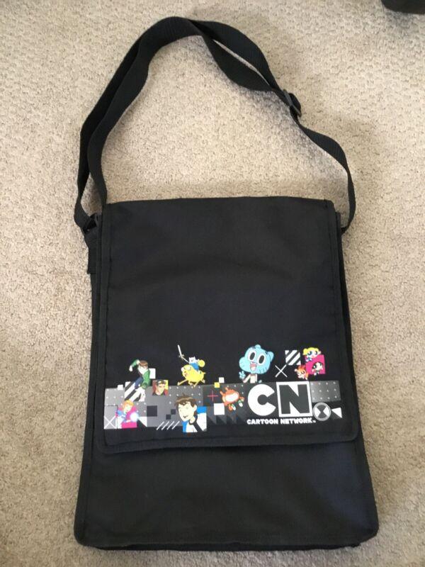 OFFICIAL CARTOON NETWORK TV PROMO MESSENGER BAG