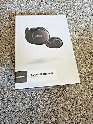 Bose SoundSport Free Wireless Headphones - Brand New, Never Opened