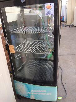 Display fridge.