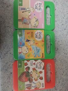 3 x Charlie and Lola DVDs Willetton Canning Area Preview