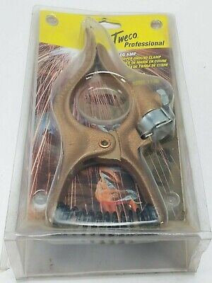 Genuine Tweco 300 Amp Welding Ground Clamp Gc-300 9205-1130