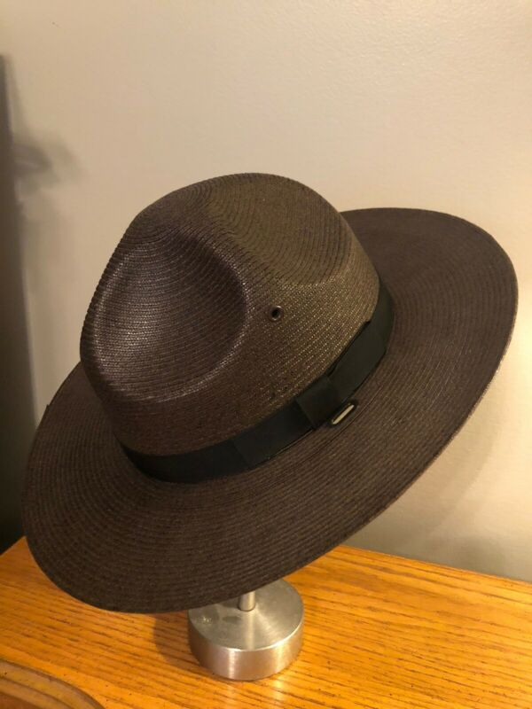 VINTAGE STRATTON HAT W/ STRAP 6 3/4 POLICE MILITARY EXCELLENT CONDITION
