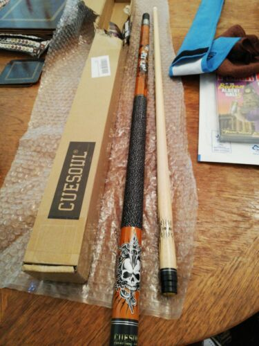 Top Quality CUESOUL  Rock my world Snooker Cue with bag and duster new