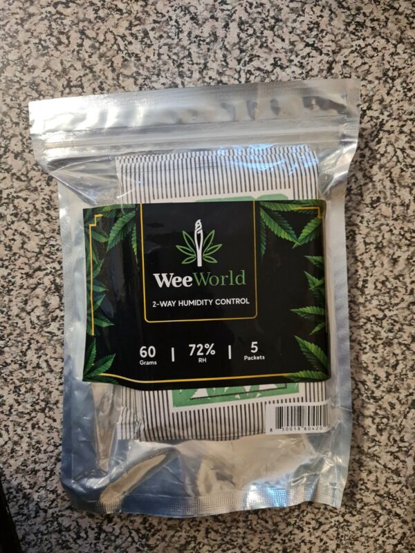 72% RH 2-Way Humidity Control Packet – 60 Gram 5-Pack