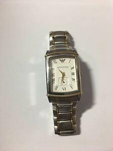 Emporio Armani Stainless Steel And Gold Two Tone Watch AR0241 Hurstville Hurstville Area Preview