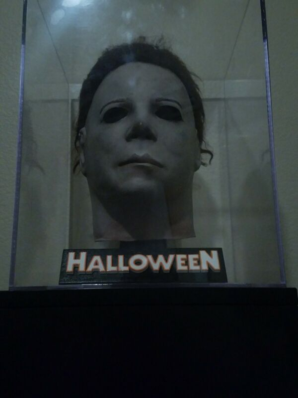 Myers Mask Spectre halloween Ooak Latex Michael Myers Prop accurate not jason