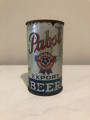 1937 Pabst Blue Ribbon Export BEER Flat Top Can -2