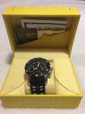 Invicta Pro Diver 28753 Men's 50mm S/Steel Black Dial Chronograph Watch