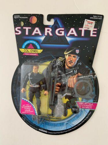 Vintage 1994 Stargate Col O'Neil Leader Action Figure Hasbro w Shooting Bazooka