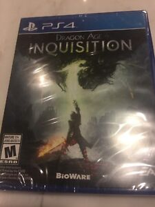 Dragon Age Inquisition PS4 ( still in wrapper)