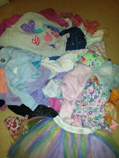 GIRLS SIZE 4 & 5 CLOTHES $1 and $2 Campbelltown Campbelltown Area Preview