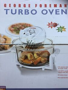 Large 17 litre Convection Turbo Oven Brand NEW in Box South Perth South Perth Area Preview