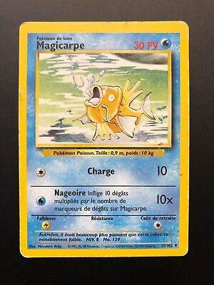 Carte Pokémon Magicarpe 35/102 Set De Base