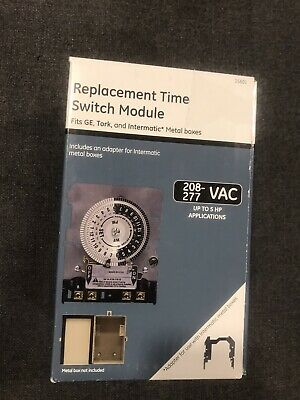 Jasco Replacement Time Switch Module 15601 Ge Tork Intermatic 208-277 Vac 5 Hp