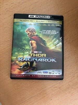 Thor  Ragnarok  Dvd  Includes Digital Copy 4K Ultra Hd Blu Ray Blu Ray  Like New