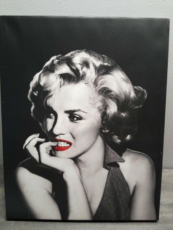 Marilyn Monroe 2013 Jerry Michaels The Thinker JM02 Canvas Print