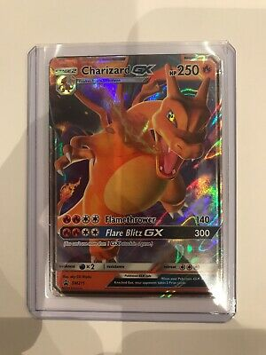 Pokemon SM211 Charizard GX | Hidden Fates Black Star Tin Promo Card | Holo Rare