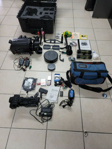 Gates Underwater Housing Sony FX1/Z1 TWO HID Lights & Sony HDR/Z1U Camera CASE
