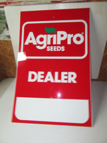 AgriPro Seeds Metal Dealer Sign