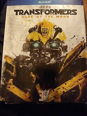 TRANSFORMERS DARK OF THE MOON STEELBOOK SLIPCOVER ONLY REPLACEMENT