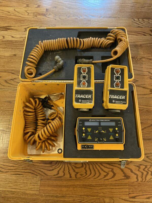 Spectra Precision Bladepro Control Box 0365-2640, (2) Tracer LaserPlane ST2-20
