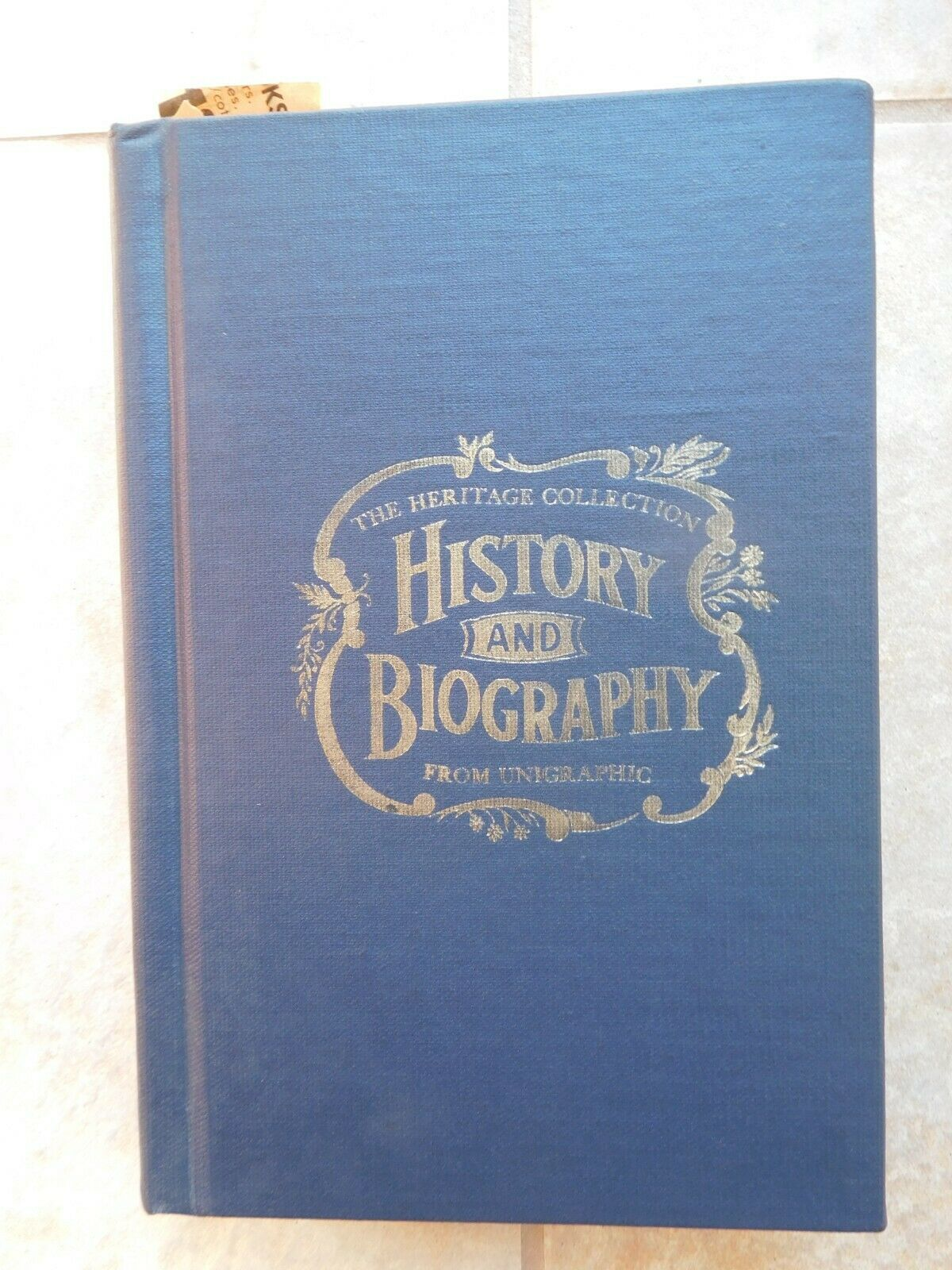 The Heritage Collection History And Biography From Unigrapic Hancock County, OH - $59.95