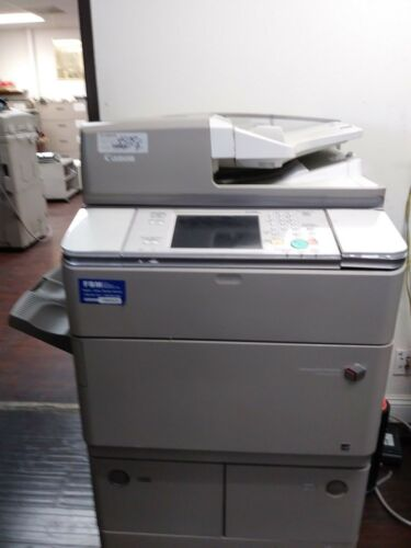Canon Imagerunner Advance 6255 Printer Copier Scanner B/w Mfp Low Meter