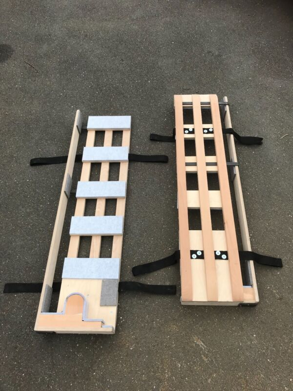 New 5ft Piano shoe for transporting, piano movers, solid beech/birch-ply made.