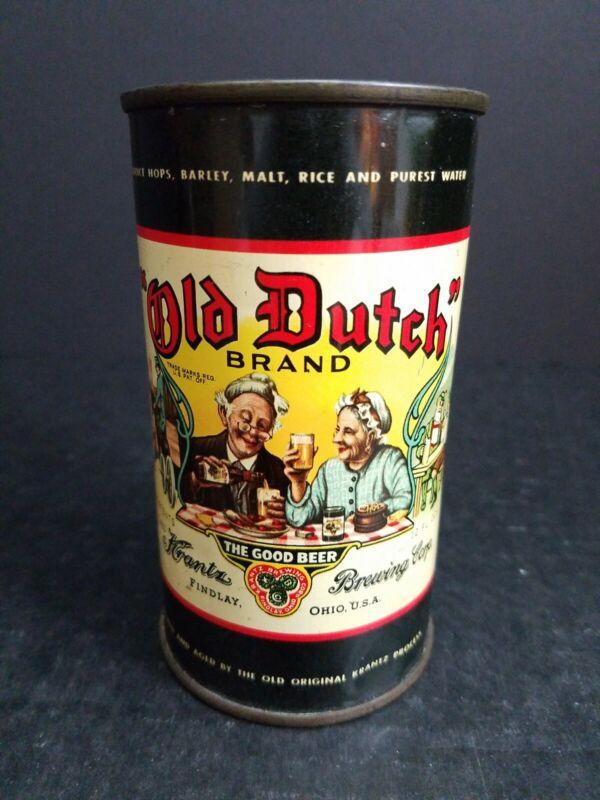FLAT TOP BEER CAN OLD DUTCH KRANTZ BREWING FINDLAY OHIO