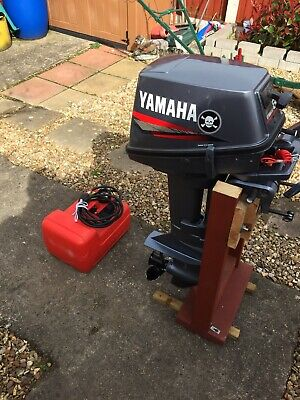 Yamaha 8hpshort Shaft Outboard Engine