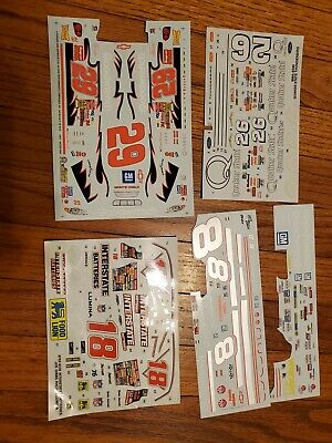 Nascar model decals 1/25 Goodwrench, Quaker State etc.