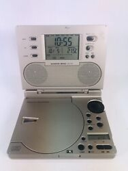 Sharper Image SI585 CD Radio Alarm Clock Sound Soother Works Great