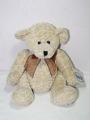 Ganz ELTON Fuzzy TEDDY BEAR Stuffed Plush Animal NWT